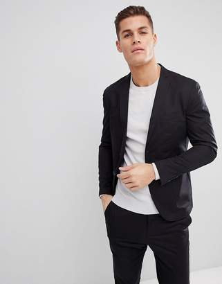 Selected Suit Jacket With Patch Pockets