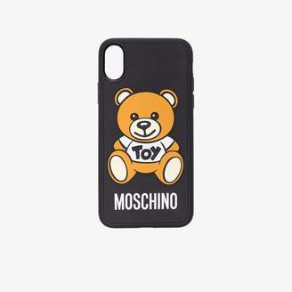 Moschino iPhone X toy bear case