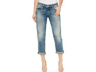 Mavi Jeans Emma Slim Boyfriend in Mid Earthy Vintage Women's Jeans