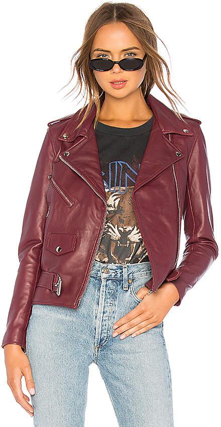 Understated Leather Lightweight Easy Rider Jacket