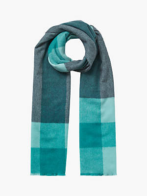 Jigsaw Oversized Block Wool Scarf