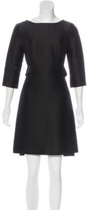 Balenciaga Belted Sheath Dress