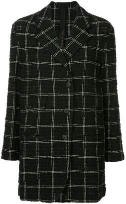 Forme D'expression checked blazer
