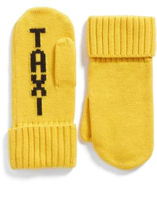 Kate Spade Taxi Mittens