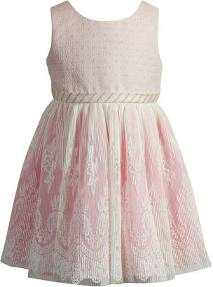 Young Land Sleeveless Party Dress - Preschool Girls $60 thestylecure.com