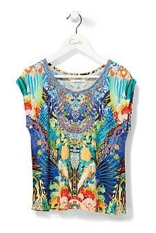 Camilla Kid'S Round Neck T-Shirt(4-10 Years)