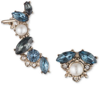 Marchesa Gold-Tone Crystal, Stone & Imitation Pearl Mismatch Earrings