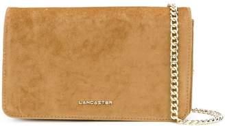 Lancaster flap clutch bag