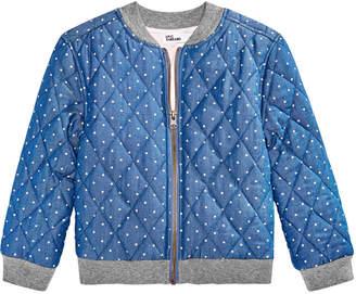c074ca7e3 Epic Threads Little Girls Follow Your Print Bomber Jacket