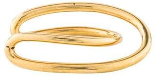 Charlotte Chesnais Gold-Plated Initial Cuff