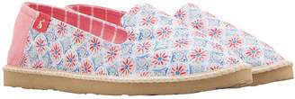 Joules Flat Espadrille Shoes - Printed
