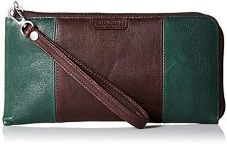 Ellington Leather Goods EVA Large Colorblock Zip EG Wallet
