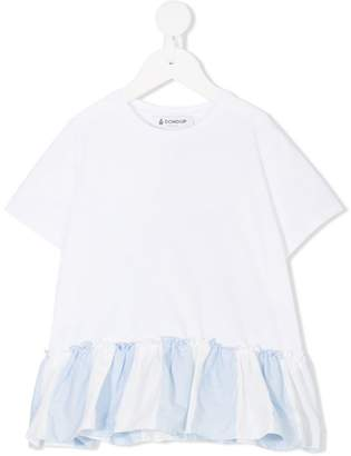 Dondup Kids ruffle-trimmed T-shirt