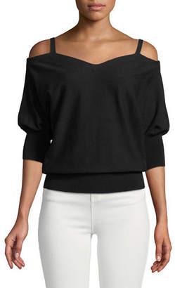 Milly Drama Dolman-Sleeve Sweater