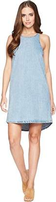 Lucky Brand Women's Denim Button Back Dress