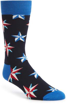 Happy Socks Nautical Star Socks
