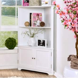URBAN RESEARCH Red Barrel Studio Vas Corner Unit Bookcase