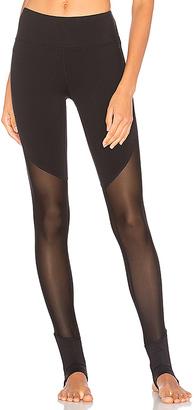 alo Show Off Legging in Black $107 thestylecure.com