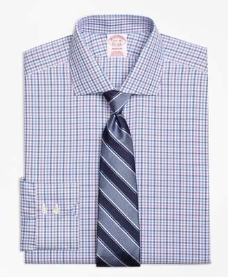 Brooks Brothers Madison Classic-Fit Dress Shirt, Non-Iron Multi Check