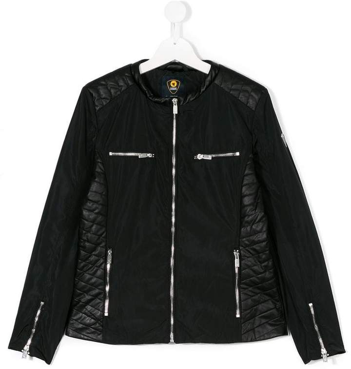 Ciesse Piumini Junior quilted biker jacket