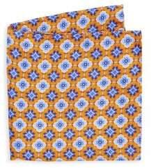 Saks Fifth Avenue COLLECTION Kaleidescope Print Silk Pocket Square