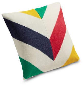 HBC Hudson'S Bay Company Blanket Cushion Chevron