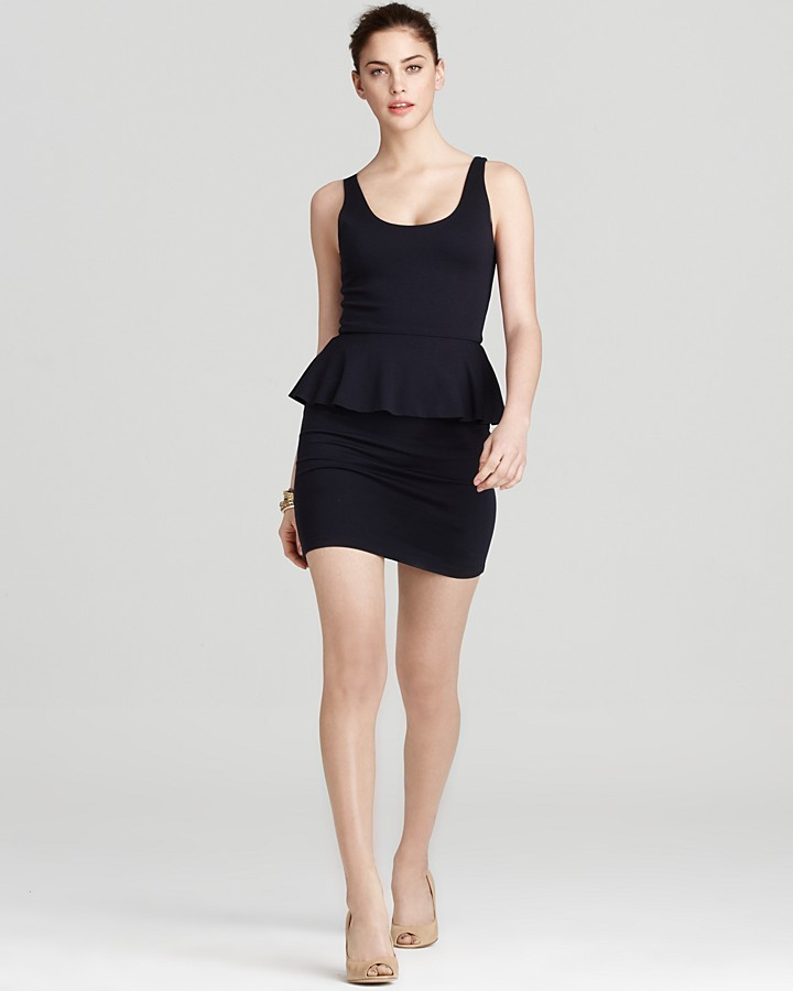 Alice + Olivia Dress - Tory Peplum