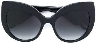 Dolce & Gabbana Eyewear cat-eye oversized sunglasses