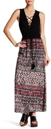 Angie Kaleidoscope Print Maxi Skirt $34.99 thestylecure.com