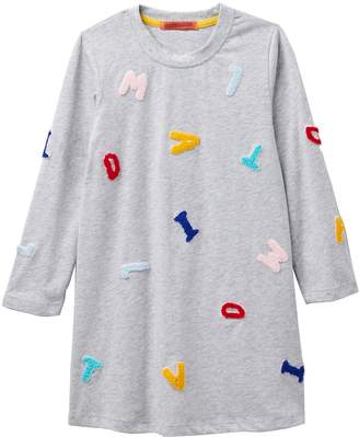 Funkyberry Alphabet Long Sleeve Dress (Toddler, Little Girls, & Big Girls)