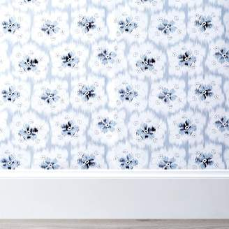 Pottery Barn Teen Lily Ashwell Floral Surestrip Wallpaper, 3'x9'