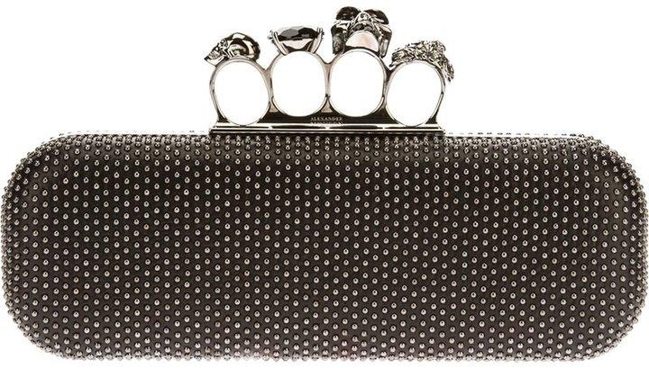 Alexander McQueenAlexander McQueen 'Knucklebox' studded clutch