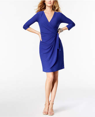 INC International Concepts I.n.c. Wrap Dress