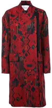 Derek Lam 10 Crosby Jacquard Coat