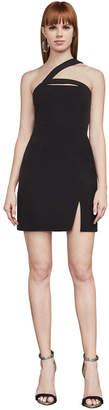 BCBGMAXAZRIA Dayne Asymmetrical Shoulder Dress