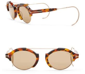 7b739d40f ... at Nordstrom Rack · Tom Ford Farrah 49mm Round Browbar Sunglasses