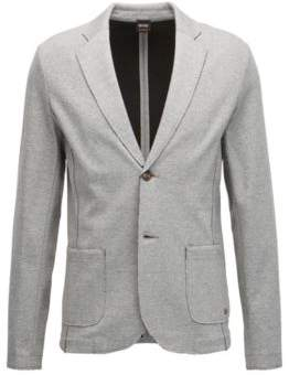 BOSS Hugo Jersey Blend Sport Coat, Regular Fit Wacante XXL Light Grey