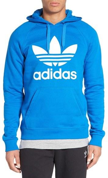 Men's Adidas Originals 'Trefoil' Graphic Hoodie