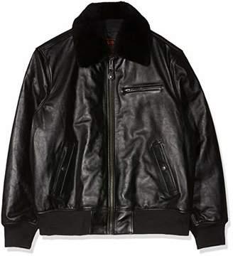 Schott NYC Men's Lc1380 Leather jacket Jacket,XXX-Large