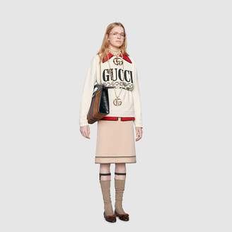 Gucci Oversize sweatshirt with Cities