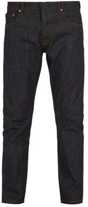 Valentino Rockstud Untitled Slim Fit Jeans - Mens - Blue