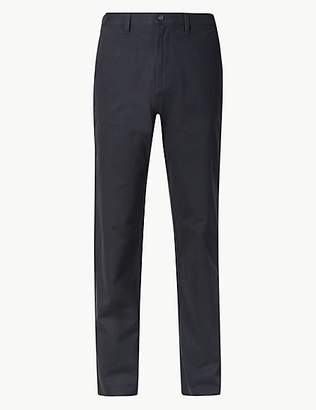 Big & Tall Regular Fit Chinos with Stretch