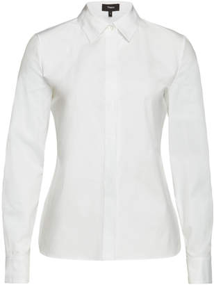 Theory Classic Cotton Shirt