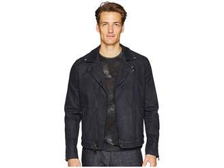John Varvatos Collection Zip Closure Biker Jacket O1700U2