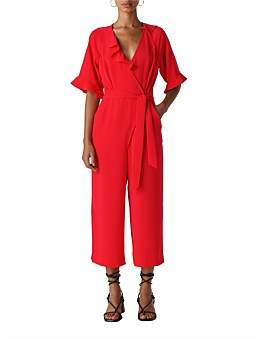 Whistles Alma Frill Jumpsuit
