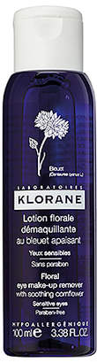 Klorane Travel Floral Eye Make-up Remover with Soothing Cornflower