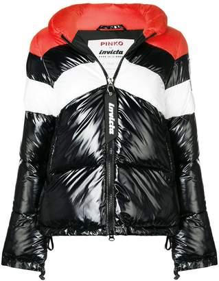 Pinko hooded puffer jacket