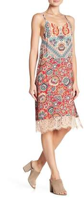 Angie V-Neck Print Dress