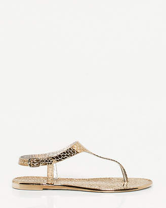 cd25d3969191 Gold Thong Sandals For Women - ShopStyle Canada