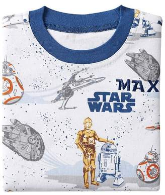 Pottery Barn Kids Star Wars Droid Cotton Tight Fit Pajama, 2T